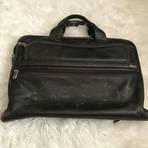 Tumi Black Briefcase